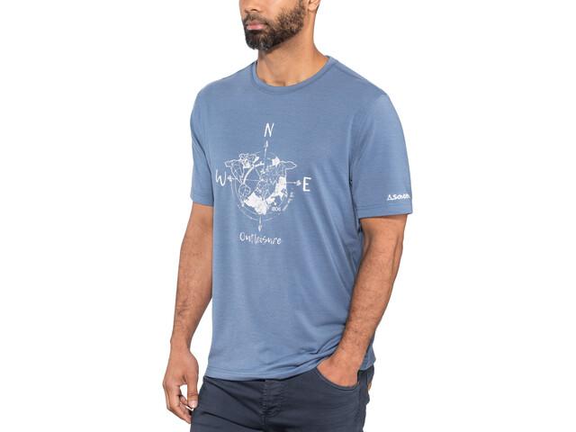 Schöffel Perth1 T-Shirt Herren blue horizon